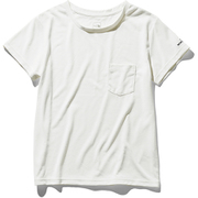 ショートスリーブポケットティー S/S Pocket Tee NTW31935 (W)ホワイト Mサイズ [アウトドア カットソー レディース]