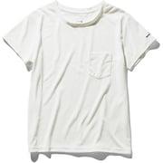 ショートスリーブポケットティー S/S Pocket Tee NTW31935 (W)ホワイト XLサイズ [アウトドア カットソー レディース]