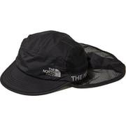 ランシールドキャップ Run Shield Cap (K)ブラック Mサイズ [アウトドア 帽子]