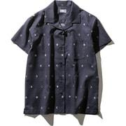 S/S Climbing Summer Shirt NRW21931 (MN)ムーンフェイズネイビー Mサイズ [アウトドア シャツ レディース]