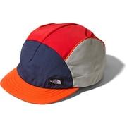 Multi-Colored Cap NN01976 (OM)オレンジマルチ Lサイズ [ランニング小物]