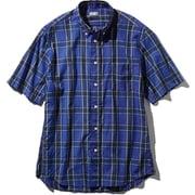 S/S Ocotillo Patch Shirt NR21969 (B)ブルー Sサイズ [アウトドア シャツ メンズ]