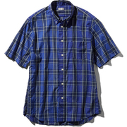 S/S Ocotillo Patch Shirt NR21969 (B)ブルー XLサイズ [アウトドア シャツ メンズ]
