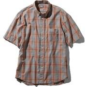 S/S Ocotillo Patch Shirt NR21969 (TN)タン Lサイズ [アウトドア シャツ メンズ]