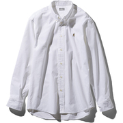 ロングスリーブヒムリッジシャツ L/S Him Ridge Shirt NR11955 (W)ホワイト XLサイズ [アウトドア シャツ メンズ]