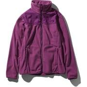 Mountain Versa Micro Jacket NLW61804 (PP) フロックスパープル XLサイズ [アウトドア フリース レディース]