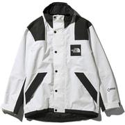 RAGE GTX Shell Jacket NP11961 (WK)ホワイト×ブラック Lサイズ [アウトドア ジャケット メンズ]