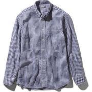 L/S Hidden Valley Shirt NR11966 (NG)ネイビーギンガム Lサイズ [アウトドア シャツ メンズ]