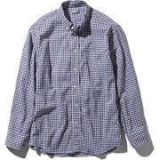 L/S Hidden Valley Shirt NR11966 (NG)ネイビーギンガム Mサイズ [アウトドア シャツ メンズ]