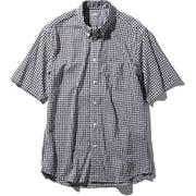 S/S Hidden Valley Shirt NR21967 (BG)ブラックギンガム Sサイズ [アウトドア シャツ メンズ]
