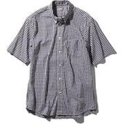 S/S Hidden Valley Shirt NR21967 (BG)ブラックギンガム Lサイズ [アウトドア シャツ メンズ]