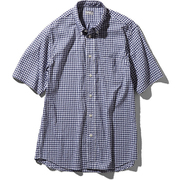 S/S Hidden Valley Shirt NR21967 NG_ネイビーギンガム Sサイズ [アウトドア シャツ メンズ]