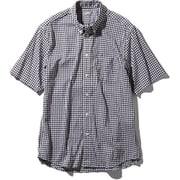 S/S Hidden Valley Shirt NR21967 (BG)ブラックギンガム XLサイズ [アウトドア シャツ メンズ]