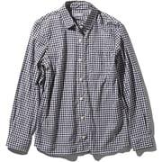 L/S Hidden Valley Shirt NRW11966 (BG)ブラックギンガム Sサイズ [アウトドア シャツ レディース]