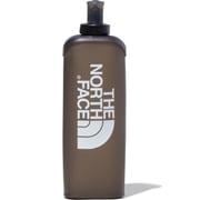 ランニングソフトボトル500 Running Soft Bottle 500 NN31902 (CG)クリアグレー [アウトドア ウォータータンク 水筒]