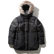 EXPLORE HIM COAT ND91965 (K)ブラック XLサイズ [アウトドア ダウンコート メンズ]