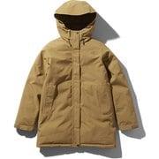 マカルダウンコート Makalu Down Coat NDW91837 (BK)ブリティッシュカーキ Mサイズ [アウトドア ダウンウェア レディース]