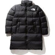 ロングヌプシコート Long Nuptse Coat NDW91951 (K)ブラック Mサイズ [アウトドア ダウンウェア レディース]