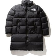 ロングヌプシコート Long Nuptse Coat NDW91951 (K)ブラック Sサイズ [アウトドア ダウンウェア レディース]