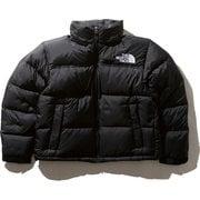Short Nuptse Jacket NDW91952 K XLサイズ [アウトドア ダウンウェア レディース]