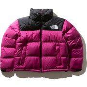 ショートヌプシジャケット Short Nuptse Jacket NDW91952 (RX)ロックスベリーピンク Lサイズ [アウトドア ダウンウェア レディース]