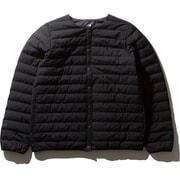 ウインドストッパーゼファーシェルカーディガン WS Zepher Shell Cardigan NDW91961 (K)ブラック Mサイズ [アウトドア ダウンウェア レディース]