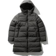 ウインドストッパーダウンシェルコート WS Down Shell Coat NDW91964 (P)ピート Mサイズ [アウトドア ダウンウェア レディース]