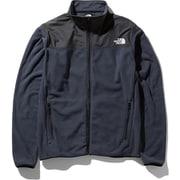 マウンテンバーサマイクロジャケット Mountain Versa Micro Jacket NL71904 (UN)アーバンネイビー Lサイズ [アウトドア フリース メンズ]