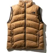 Aconcagua Vest ND91833 BK Mサイズ [アウトドア ダウンウェア メンズ]