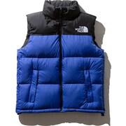 ヌプシベスト Nuptse Vest ND91843 (TB)TNFブルー Lサイズ [アウトドア ダウンウェア メンズ]