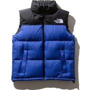 ヌプシベスト Nuptse Vest ND91843 (TB)TNFブルー Mサイズ [アウトドア ダウンウェア メンズ]