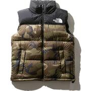 Novelty Nuptse Vest ND91844 WD Lサイズ [アウトドア ダウンウェア メンズ]