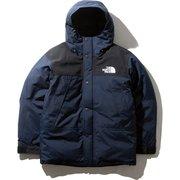 マウンテンダウンジャケット ND91930 (UN)アーバンネイビー XSサイズ [アウトドア ダウンウェア メンズ]