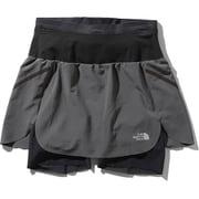 フライウェイトレーシングスカート Flyweight Racing Skirt NBW41978 (AG)アスファルトグレー Lサイズ [ランニングパンツ レディース]