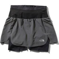 フライウェイトレーシングスカート Flyweight Racing Skirt NBW41978 (AG)アスファルトグレー Mサイズ [ランニングパンツ レディース]