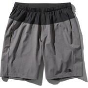 フレキシブルショーツ Flexible Shorts NB91775 (KZ)ブラック×ミックスチャコール Lサイズ [ランニングパンツ メンズ]