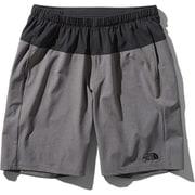 フレキシブルショーツ Flexible Shorts NB91775 (KZ)ブラック×ミックスチャコール Mサイズ [ランニングパンツ メンズ]