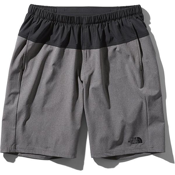 フレキシブルショーツ Flexible Shorts NB91775 (KZ)ブラック×ミックスチャコール XLサイズ [ランニングパンツ メンズ]