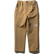 バーブパンツ Verb pants NBJ81855 (BK)ブリティッシュカーキ 150cm [アウトドア パンツ キッズ]