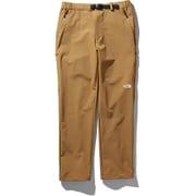 バーブパンツ Verb pants NB31805 (BK)ブリティッシュカーキ Mサイズ [アウトドア パンツ メンズ]