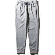 カラーヘザードスウェットロングパンツ Color Heathered Sweat Long pants NB81696 (GU)グレーヘザー×ネイビーロゴ Sサイズ [アウトドア スウェットパンツ メンズ]