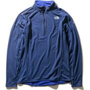フライウェイトバーサジップアップ Flyweight Versa Zip Up NL71971 (TB)TNFブルー Lサイズ [アウトドア フリース メンズ]