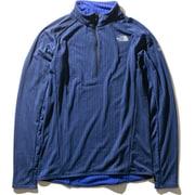 フライウェイトバーサジップアップ Flyweight Versa Zip Up NL71971 (TB)TNFブルー Mサイズ [アウトドア フリース・セーター]