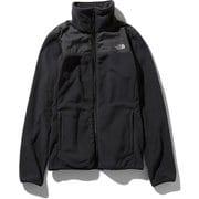 マウンテンバーサマイクロジャケット Mountain Versa Micro Jacket NLW71904 (K)ブラック Lサイズ [アウトドア フリース レディース]
