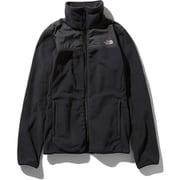 マウンテンバーサマイクロジャケット Mountain Versa Micro Jacket NLW71904 (K)ブラック Mサイズ [アウトドア フリース レディース]