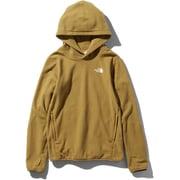Micro Fleece Hoodie NLW71931 (BK)ブリティッシュカーキ Sサイズ [アウトドア パーカー レディース]