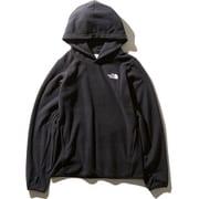 Micro Fleece Hoodie NLW71931 (K)ブラック Sサイズ [アウトドア パーカー レディース]