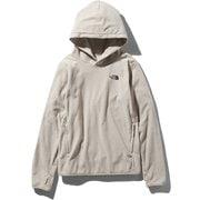 Micro Fleece Hoodie NLW71931 (OM)オートミール Lサイズ [アウトドア パーカー レディース]