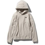 Micro Fleece Hoodie NLW71931 (OM)オートミール Sサイズ [アウトドア パーカー レディース]