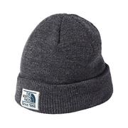 STITCHWORK BEANIE NN41620 (ZC)ミックスチャコール [アウトドア 帽子 ユニセックス]